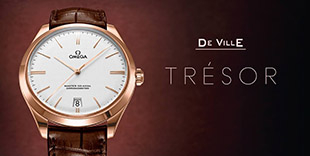 Omega DeVille Trésor Master Co-Axial 40mm