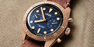 Oris Divers Carl Brashear Chronograph Limited Edition
