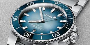Oris Aquis Lake Baikal Limited Edition 01-733-7730-4175SET